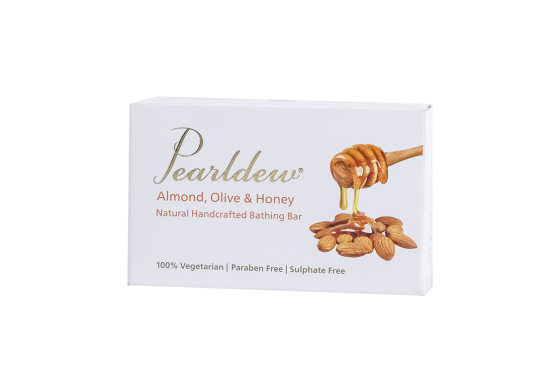 Pearldew Almond Olive Honey Bathing Bar