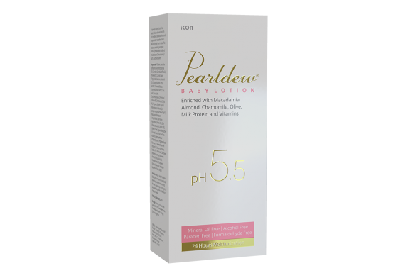 Pearldew Baby Lotion