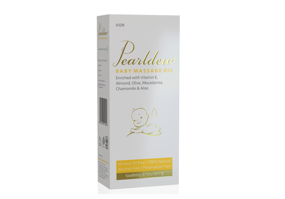 Pearldew Baby Massage Oil
